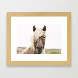 Horse V2 Framed Art Print
