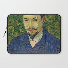 Vincent van Gogh - Portrait of Doctor Felix Rey Laptop Sleeve
