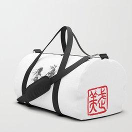 Naginata Sumi-E by Takemi Duffle Bag