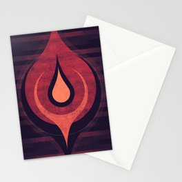 Saturn - Dragon Storm  Stationery Cards