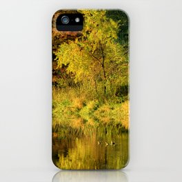 At Maynes Pond iPhone Case