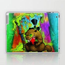 Radioactive Groundhog Eating an Apple Laptop & iPad Skin