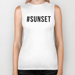 SUNSET Biker Tank