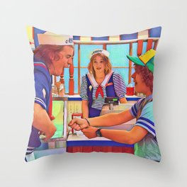 Ahoy Boys Throw Pillow