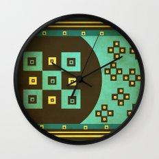 shiny stars Wall Clock