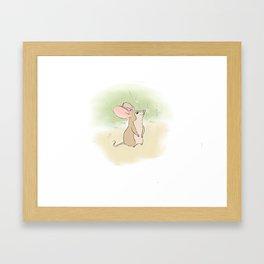Digital painting Framed Art Print
