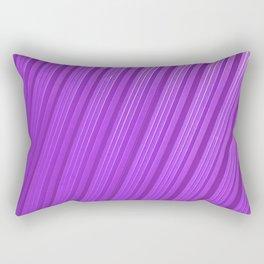 Stripes II - mauve Rectangular Pillow
