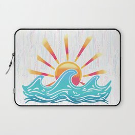 Sunrise Surf Laptop Sleeve