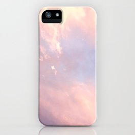 Cotton Candy Like Sky iPhone Case