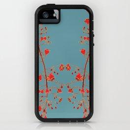 2941-Illawarra-Flame-Tree#1-Teal iPhone Case
