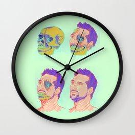 Disintegration of an Artist Wall Clock