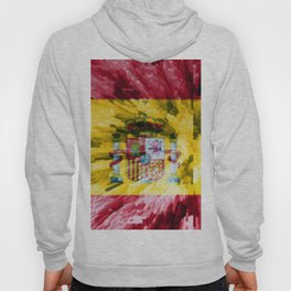 Extruded Flag of Spain Hoody