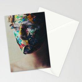 The Portrait - Olio su pelle. Stationery Cards