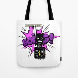 Silly Cat in the Box Tote Bag