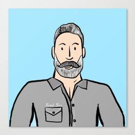 Beard Boy: Greg Canvas Print