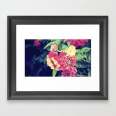 oh to be a bee Framed Art Print