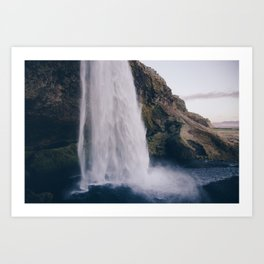 Waterfall 04 Art Print