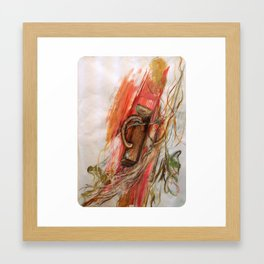 Large Scale Mixed Media Framed Art Print