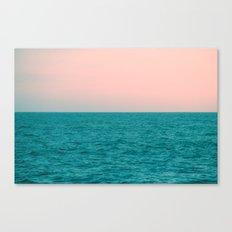 #Turquoise #Sea Canvas Print