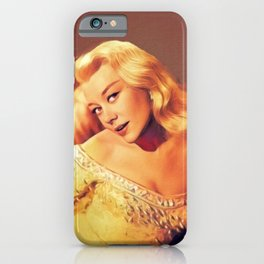 Glynis Johns, Actress iPhone Case