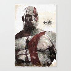 God Of War Canvas Print