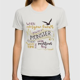 Every Monstrous Thing T-shirt