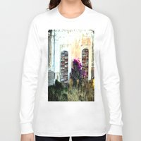 doors Long Sleeve T-shirts featuring doors by  Agostino Lo Coco