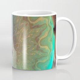 Green Glass eye Coffee Mug