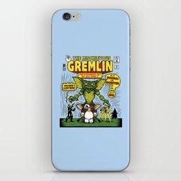 The Mischievous Gremlin iPhone Skin