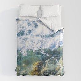 Clear Water Cliffside Comforters