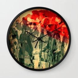 Jorge y El Dragón Wall Clock