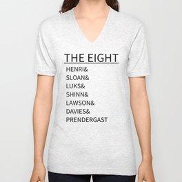 The Eight Unisex V-Neck