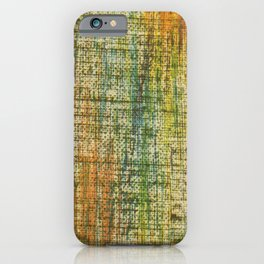 Back to the seventies iPhone Case