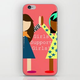 Girl Support Girls iPhone Skin