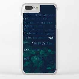 """""""Conquest of the Useless"""" by Werner Herzog Clear iPhone Case"""