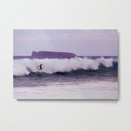 Wipeout Before Molokini Metal Print