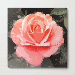 Suntalla Rose Metal Print