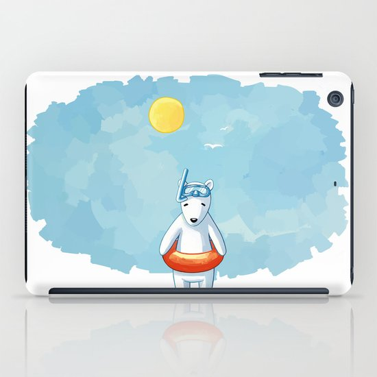 Polar Beach iPad Case