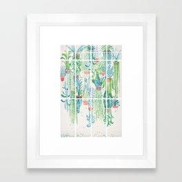 Winter in Glasshouses II Framed Art Print
