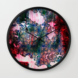 Window to the Past Wall Clock