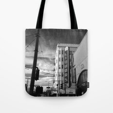 Inner Liquors Black & White San Francisco Tote Bag