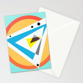 Color Compass Stationery Cards