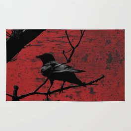 Crow Rust Industrial Red A673 Rug