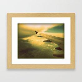 The Wing Framed Art Print