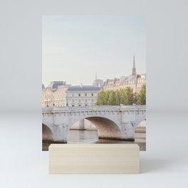 Pont Neuf in Paris - Travel Photography Mini Art Print