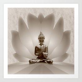 Buddha 13 Art Print