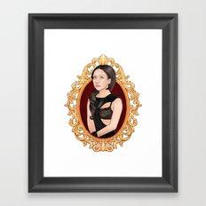 Lady Abramovic Framed Art Print