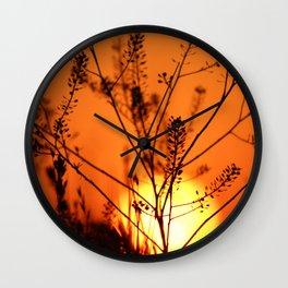 Goodnight Sun Wall Clock
