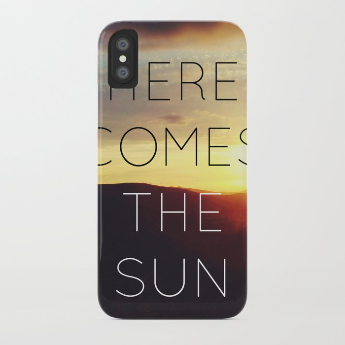 Here It Comes iPhone Case