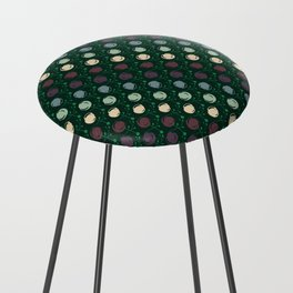 Forest Pattern Counter Stool